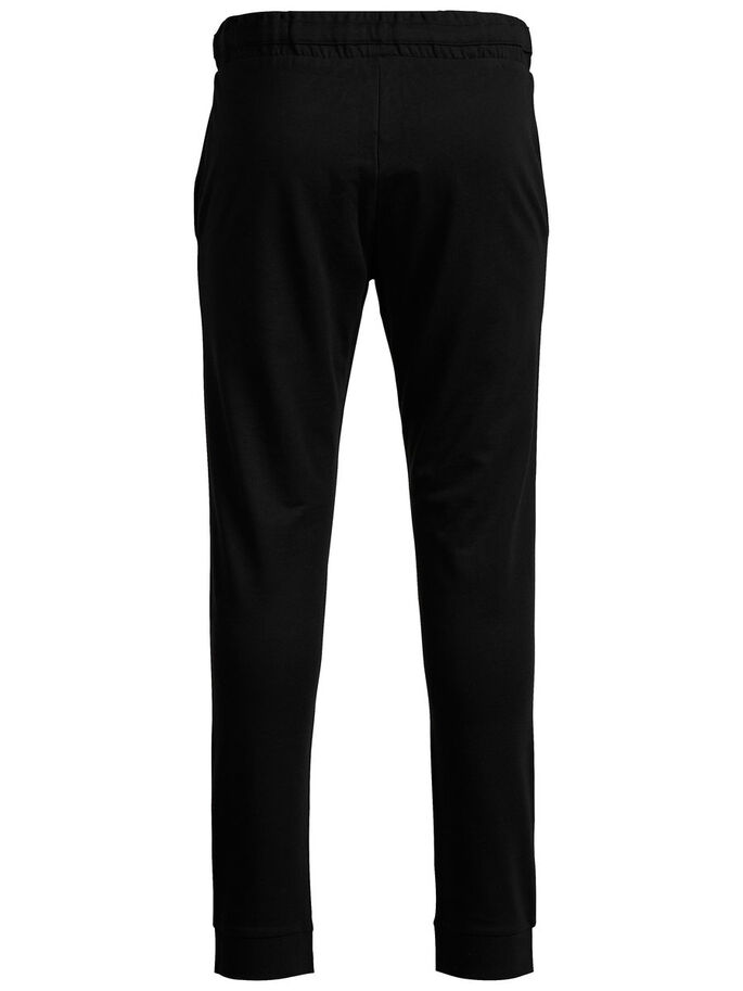TIGHT FIT SWEATBYXOR, Black, large