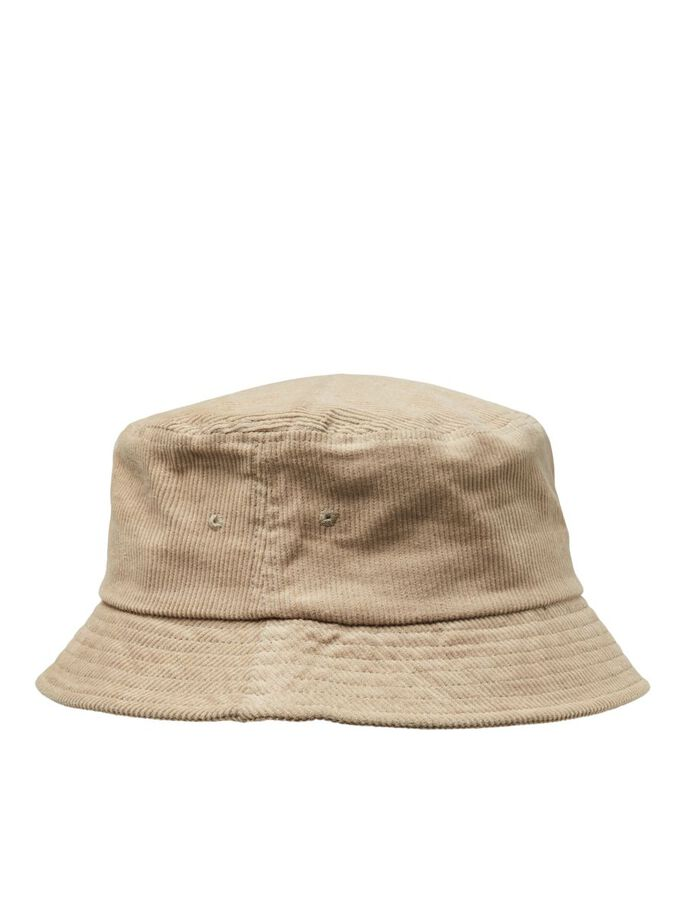 COTTON TWILL BUCKET HAT, Crockery, large