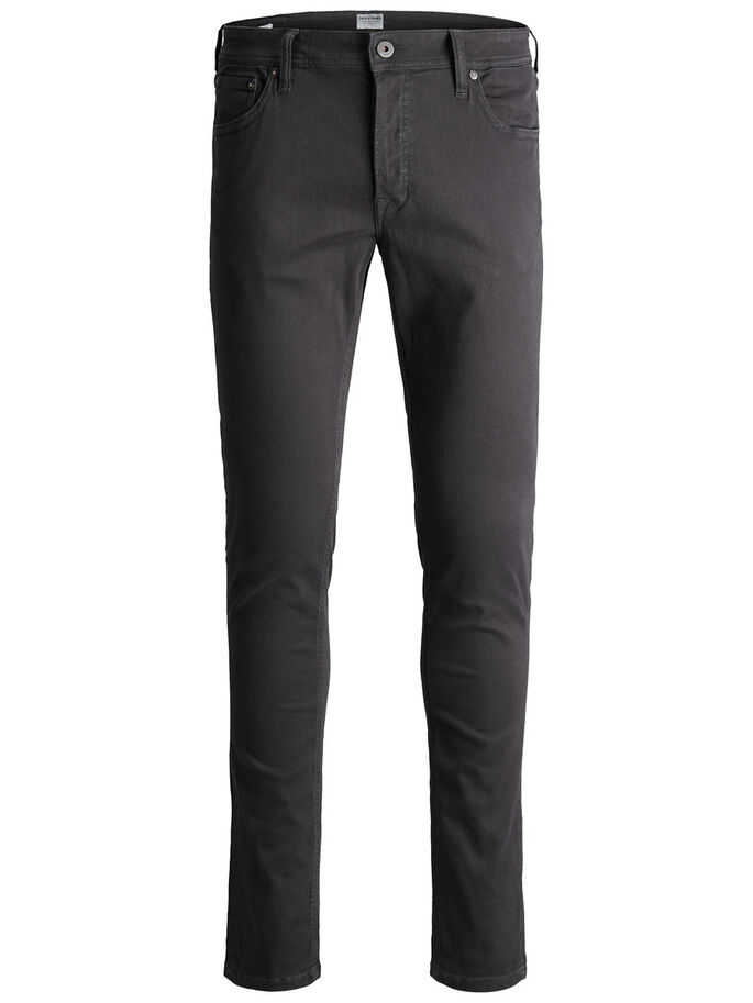 GLENN ORIGINAL AKM 696 TROUSERS, Dark Grey, large