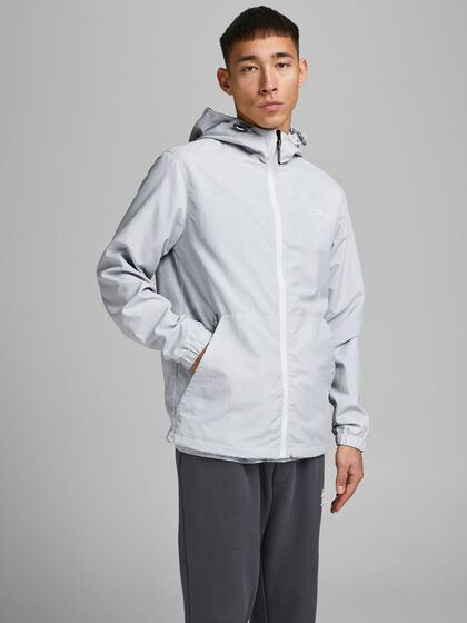 MESH-LINED HOOD LIGHTWEIGHT JACKET