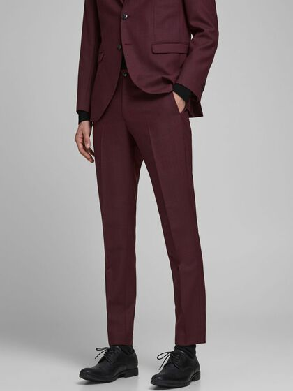 WOOLLEN SUIT TROUSERS