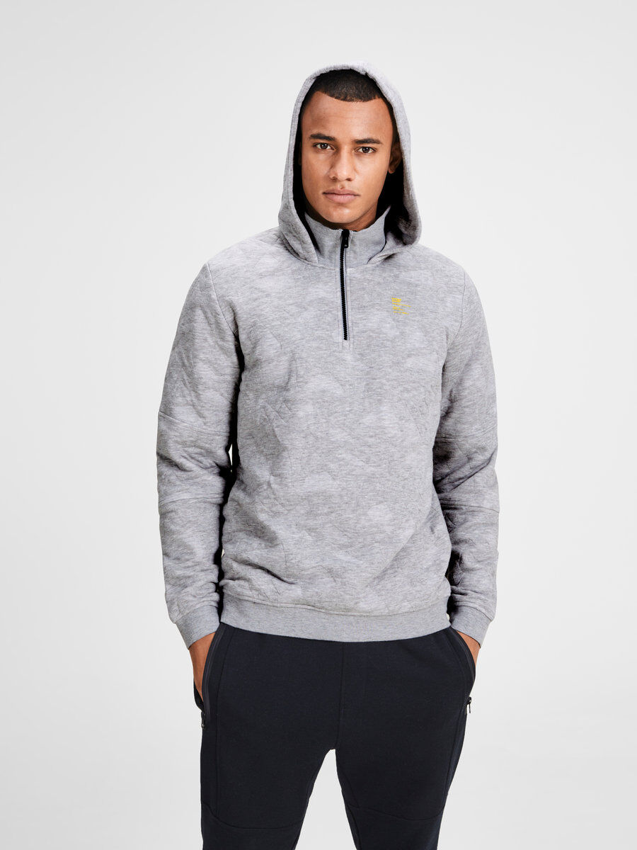 Jack & Jones Light Gray Hoodief USG811120
