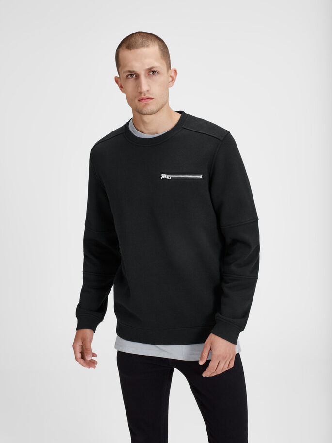 URBAN SWEATSHIRT, Black, large