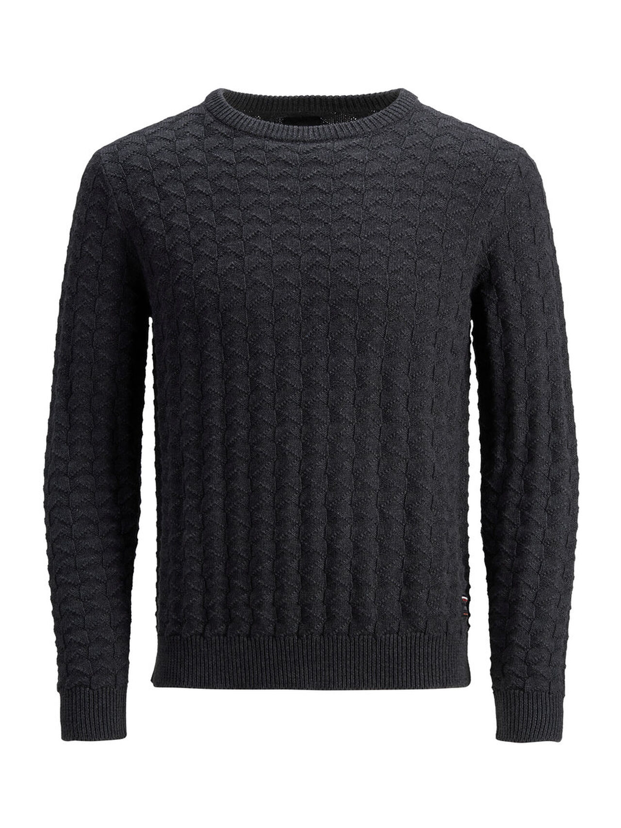 PRODUKT Classic Knitted Pullover Men Grey