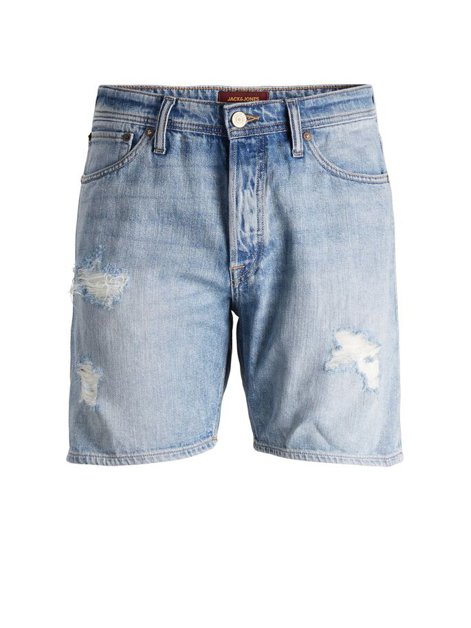 CHRIS ORIGINAL AM 244 SHORTS EN JEAN, Blue Denim, large