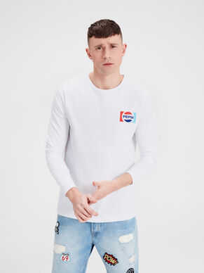 PEPSI LONG-SLEEVED T-SHIRT