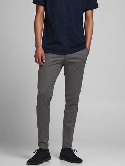 MARCO PHIL HOUNDSTOOTH CHINOS