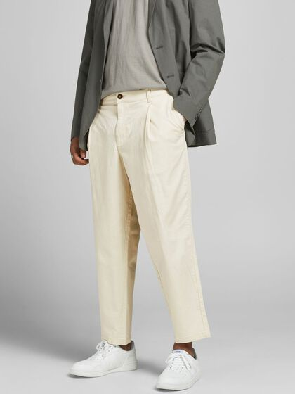 BILL RICO CROPPED TROUSERS