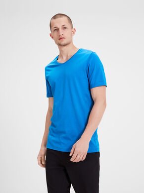 PLAIN V-NECK SLIM FIT T-SHIRT
