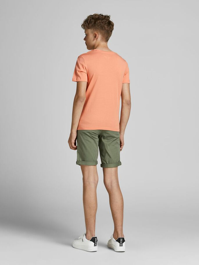 BOYS T-SHIRT, Shell Coral, large