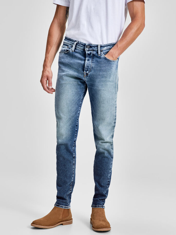 e9f7a6dc94e3a Fred icon bl 818 tapered fit jeans | JACK & JONES