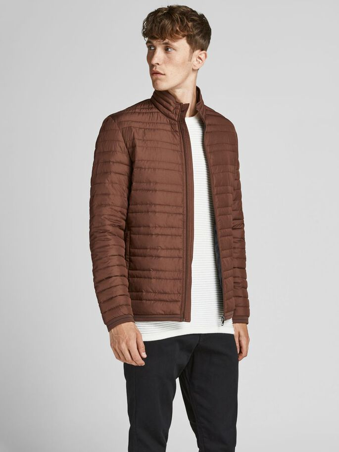 RECYCLED POLYESTER LIGHTWEIGHT JACKET, Cappuccino, large