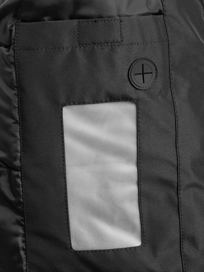 IMPERMÉABLE VESTE, Black, large