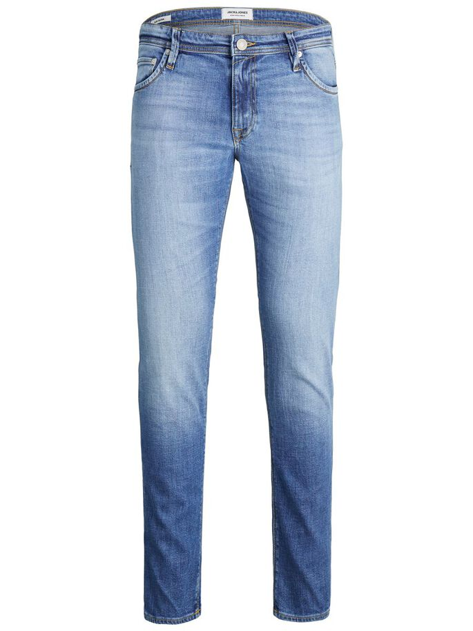 CLARK ORIGINAL AM 266 LID REGULAR FIT JEANS, Blue Denim, large