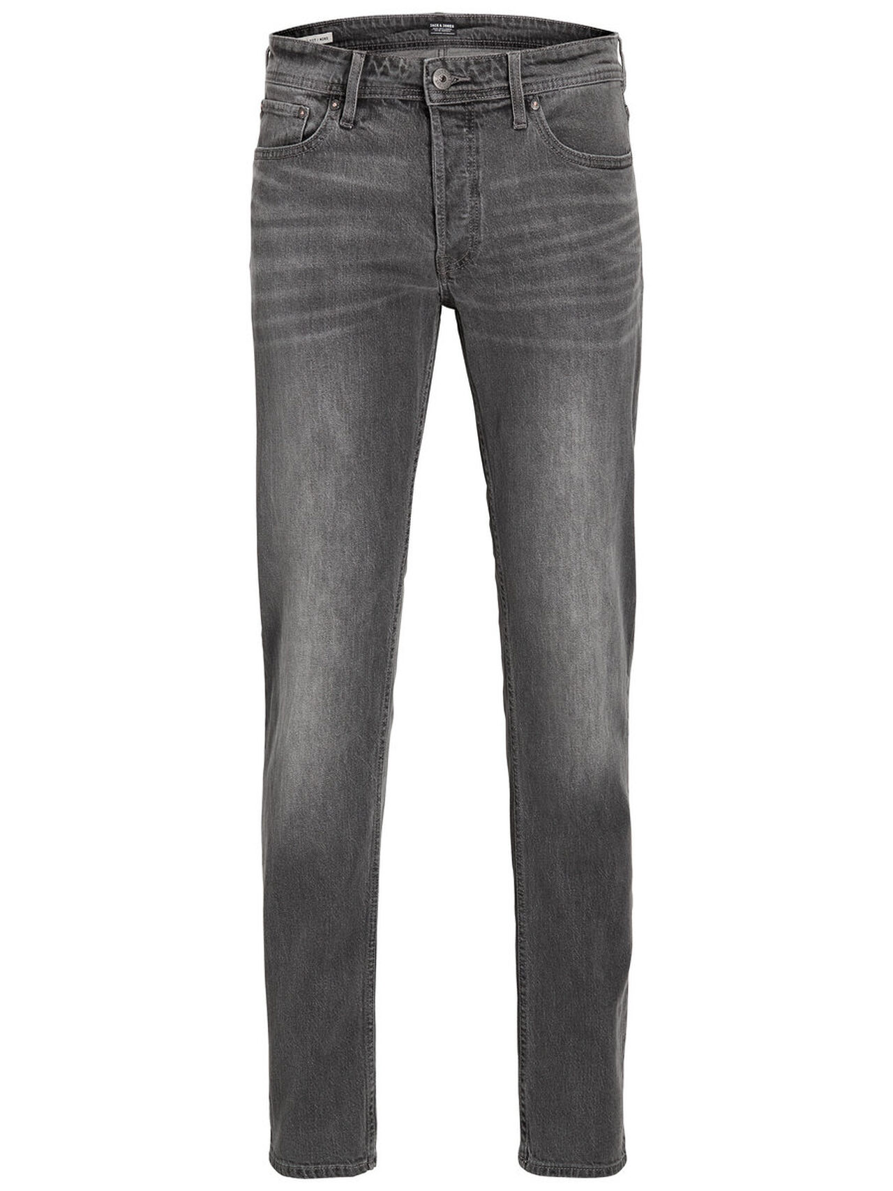 Artikel klicken und genauer betrachten! - - Classic and uncomplicated five-pocket jeans. Comfort fit with roomy thigh for comfort. With button fly. Natural worn in look created manually by hand. The jeans have been bleached for high contrasts. The model is wearing a size L and is 187 cm tall . JACK & JONES JEANS INTELLIGENCE Comfort fit Mike is a contemporary comfort fit with attitude. The fit is roomy at the top and has tapered legs. This gives you a relaxed and clean silhouette. | im Online Shop kaufen