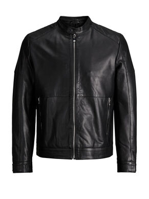 MINIMAL LEATHER JACKET