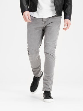 LUKE ECHO JOS 999 CHAR GREY TROUSERS