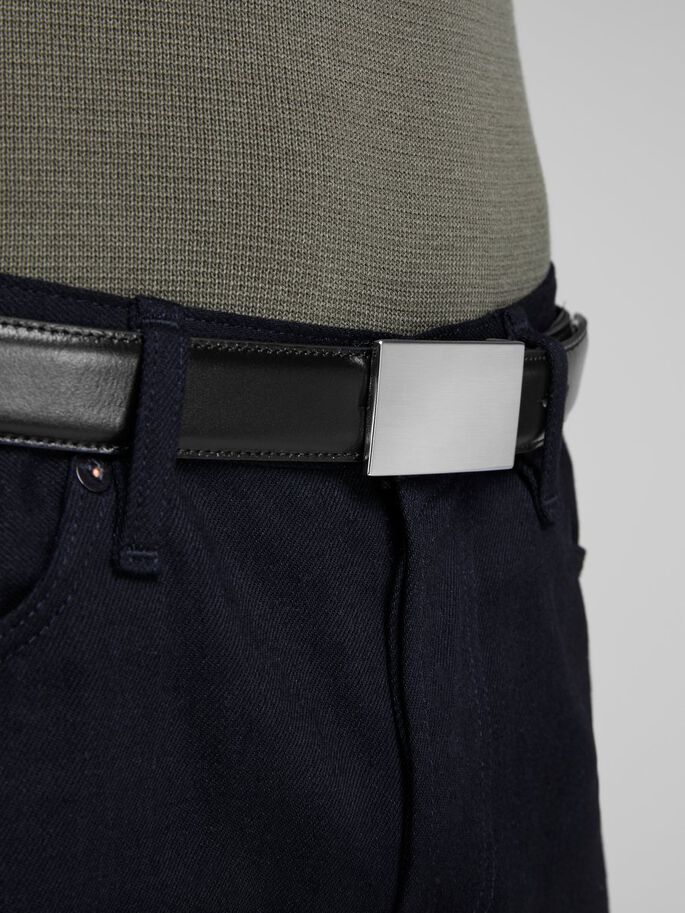 00109339003 Clean-cut leather belt | JACK & JONES
