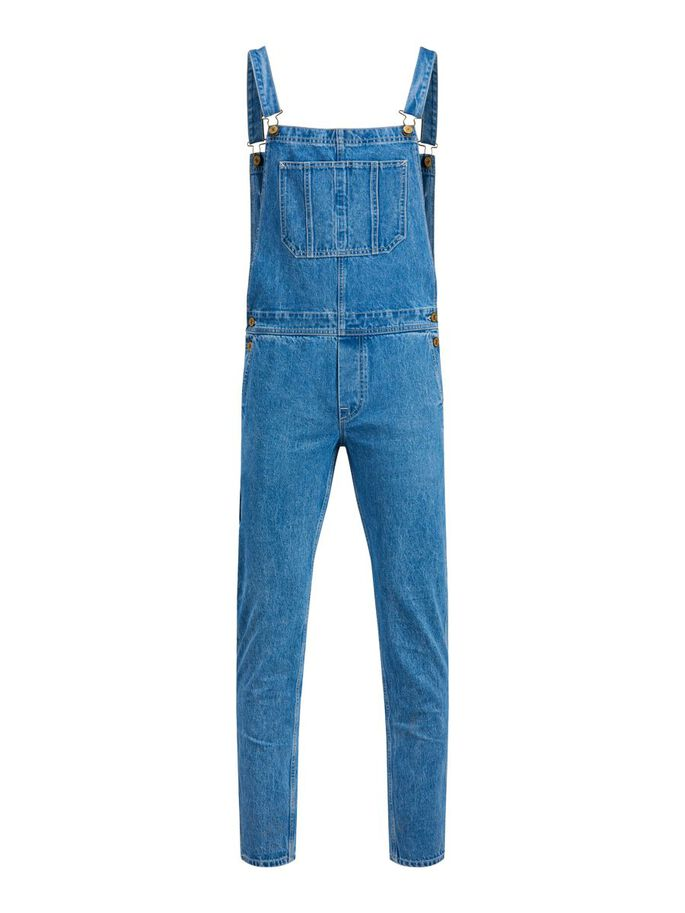 MIKE AM 256 LATZHOSE, Blue Denim, large