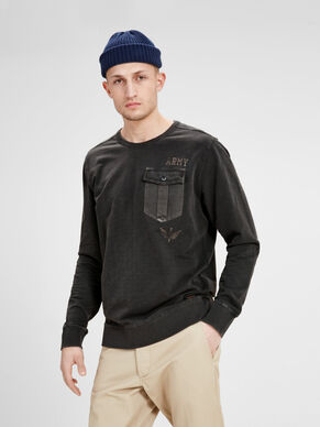 STYLE MILITAIRE SWEAT-SHIRT