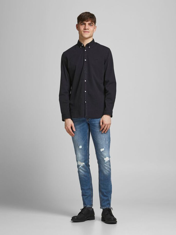 LIAM ORIGINAL NA SKINNY FIT JEANS, Blue Denim, large