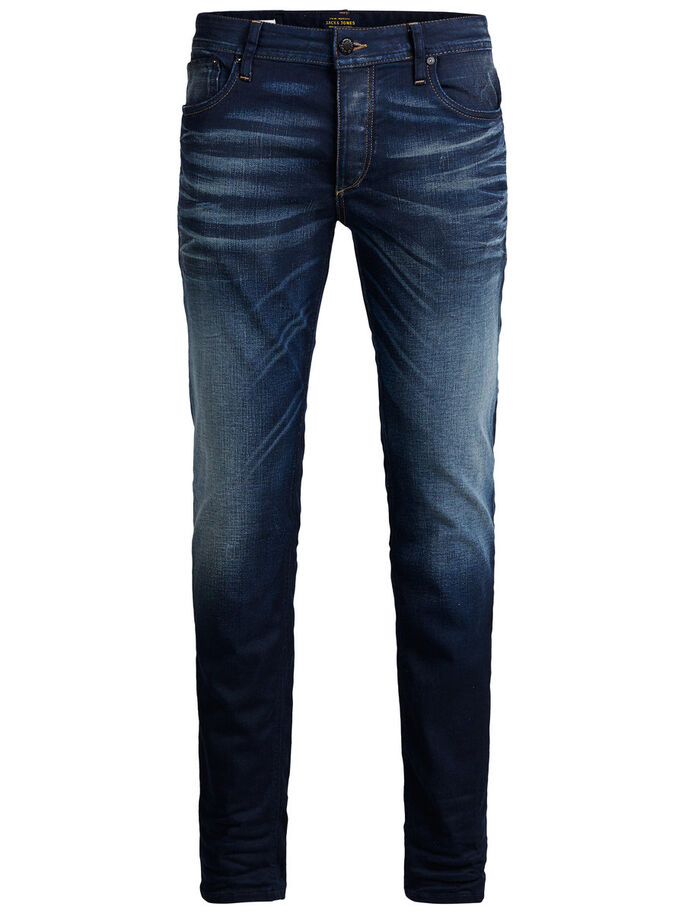 TIM ORIGINAL JOS 819 JEAN SLIM, Blue Denim, large
