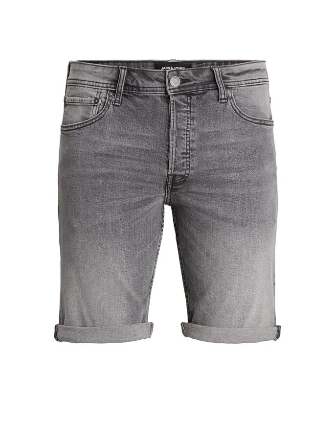BOYS RICK ORIGINAL DENIM SHORTS, Grey Denim, large