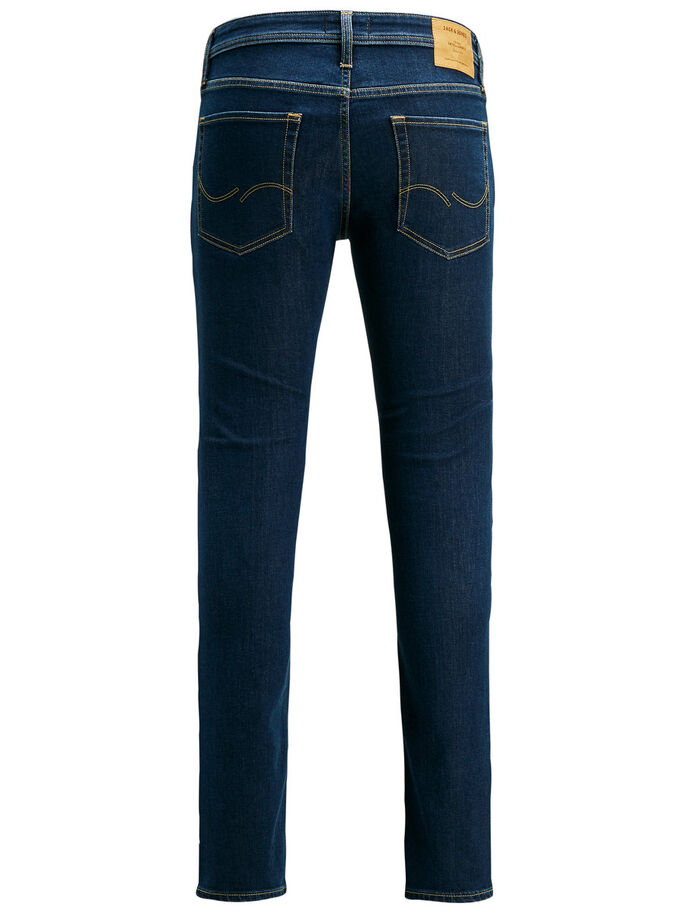LIAM ORIGINAL AM 697 SKINNY FIT JEANS, Blue Denim, large