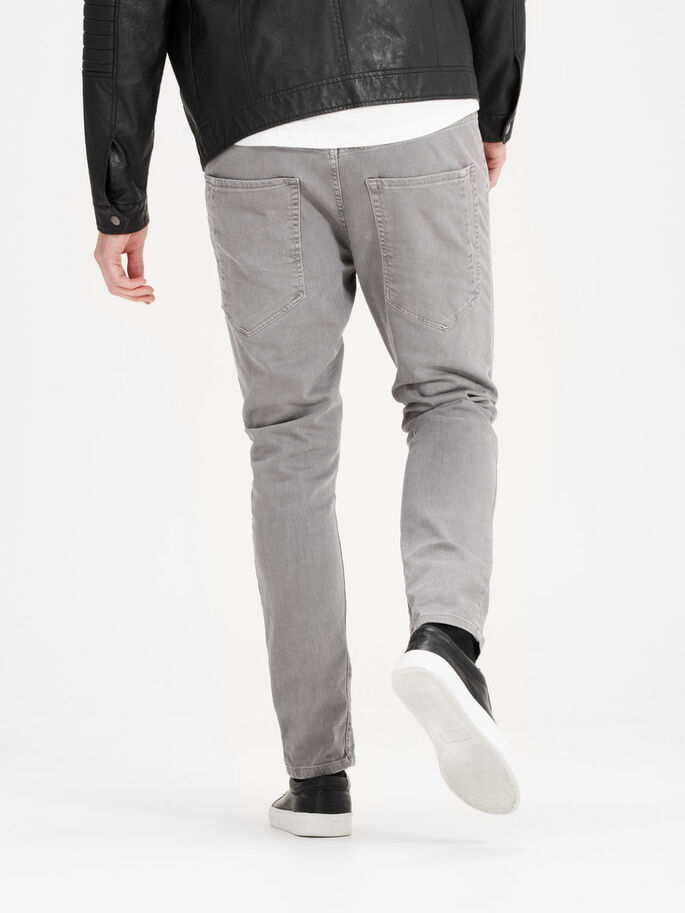 LUKE ECHO JOS 999 CHAR GREY TROUSERS, Charcoal Gray, large