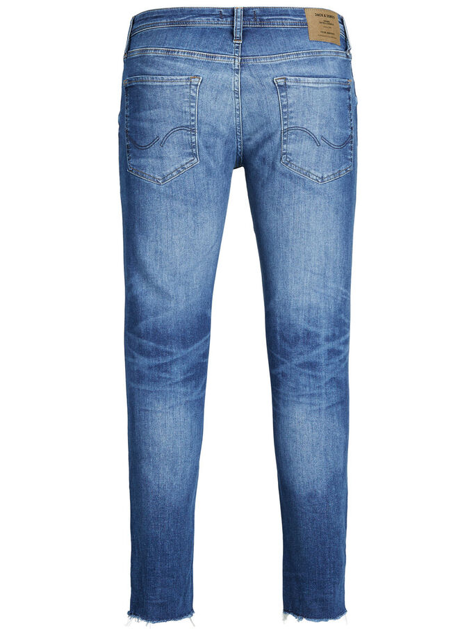 LIAM ORIGINAL 055 50SPS SKINNY JEANS, Blue Denim, large