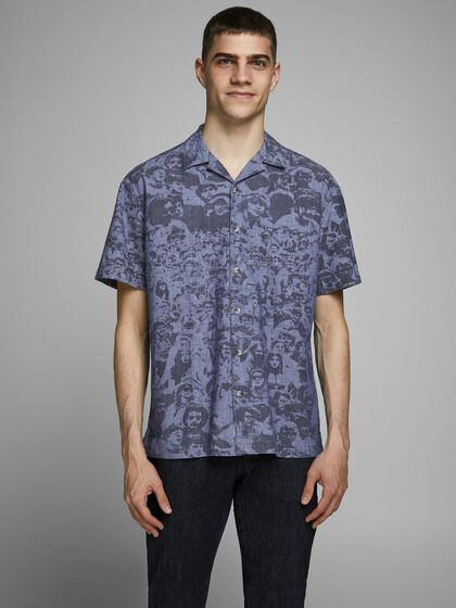 PALM TREE SHORT SLEEVED SHIRT