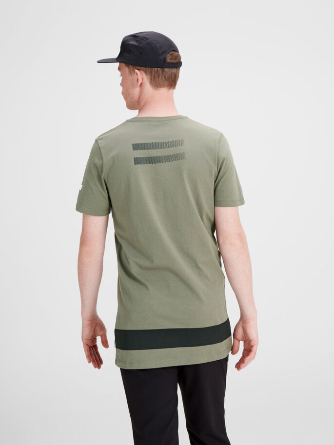 GRAPHIQUE T-SHIRT, Dusty Olive, large
