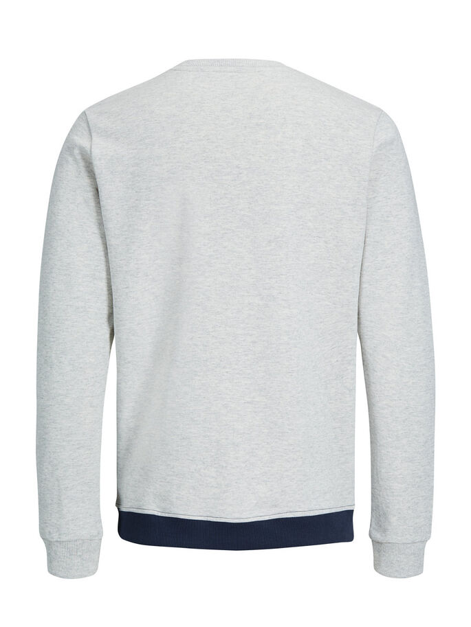 CLASSIC SWEATSHIRT, Treated White, large