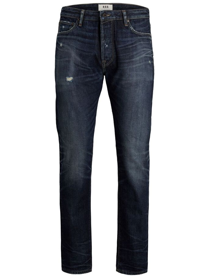 MIKE ROYAL R249 RDD COMFORT FIT JEANS, Blue Denim, large