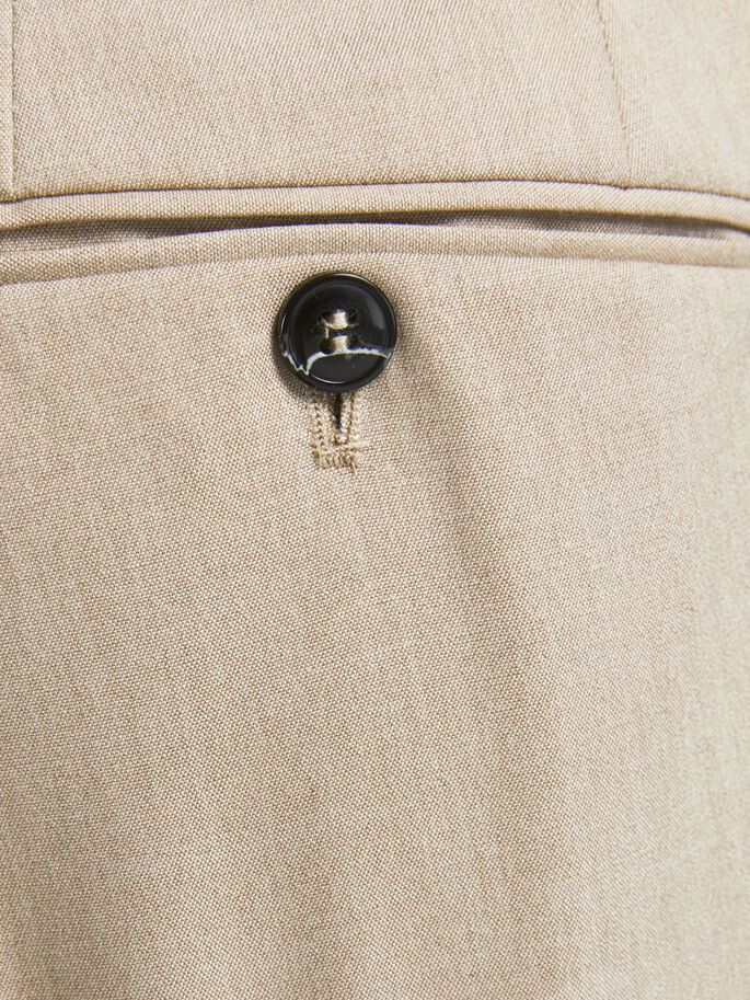 SLIM FIT CHINO SHORTS, White Pepper, large