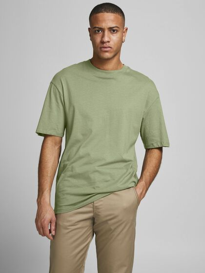 BOXY FIT COTTON T-SHIRT