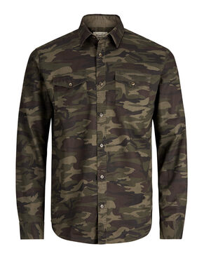 CAMO SHORT SLEEVED SHIRT