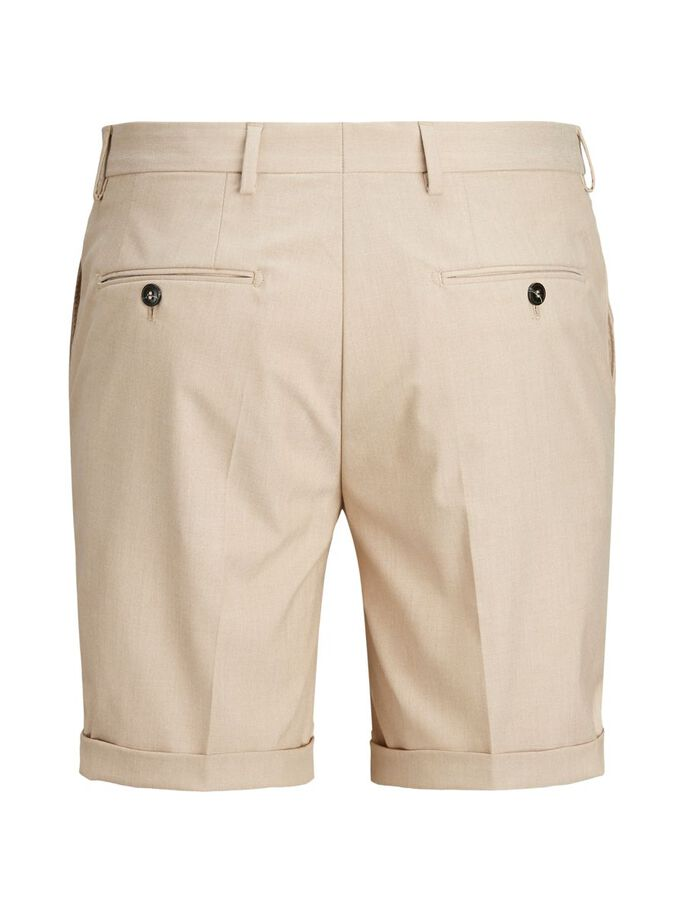 SLIM FIT CHINOSHORTS, White Pepper, large