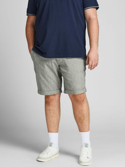DAVE LIN PLUS SIZE SHORTS