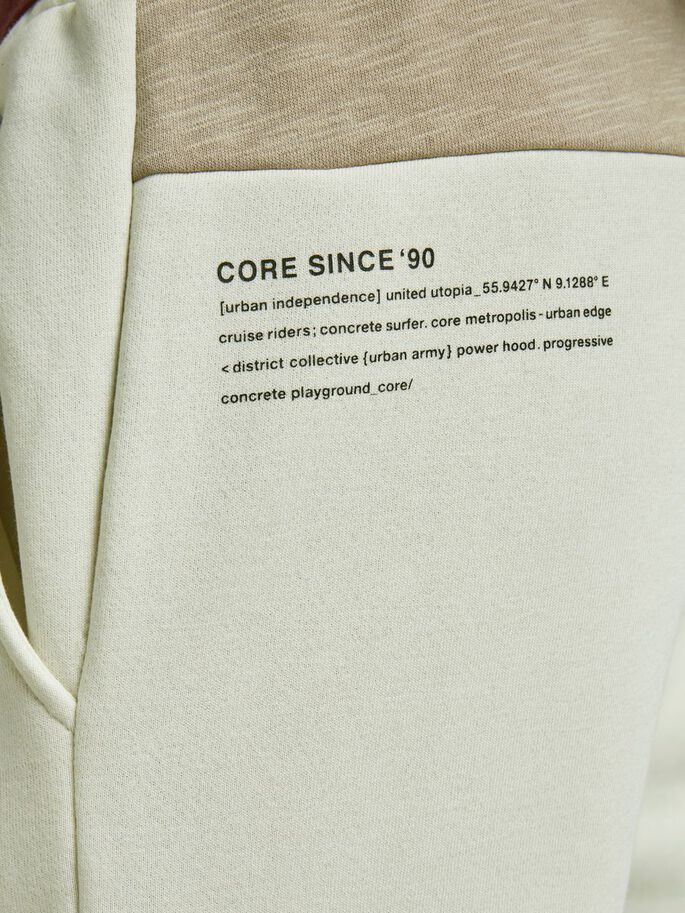 WILL FLAME SWEATPANTS, Silver Birch, large