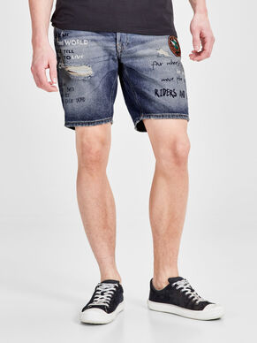RICK JOS 213 SHORTS IN DENIM