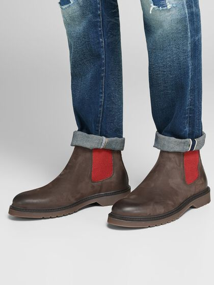 CHELSEA FINITIONS CONTRASTANTES BOTTES