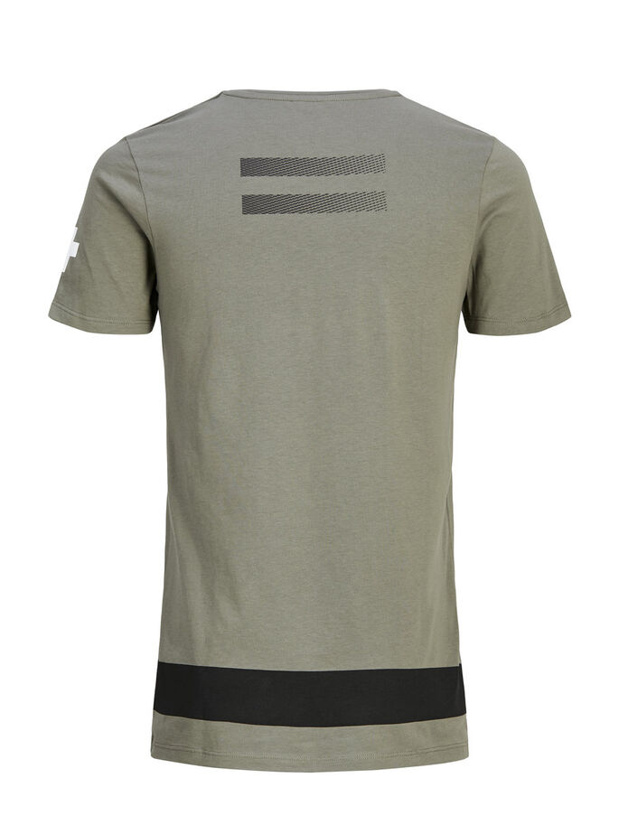 GRAPHIC T-SHIRT, Dusty Olive, large