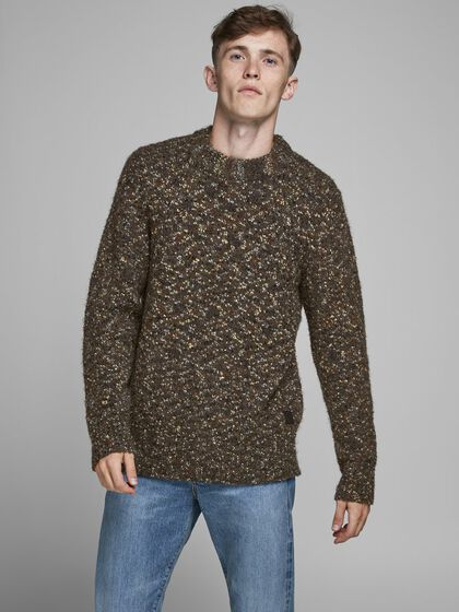 RECYCLED POLYESTER KNITTED PULLOVER