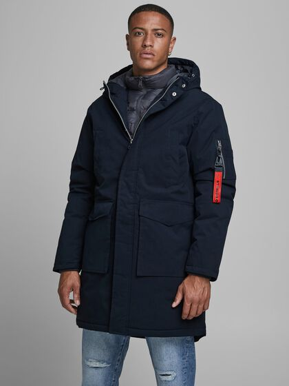 MAXI HOODED PARKA