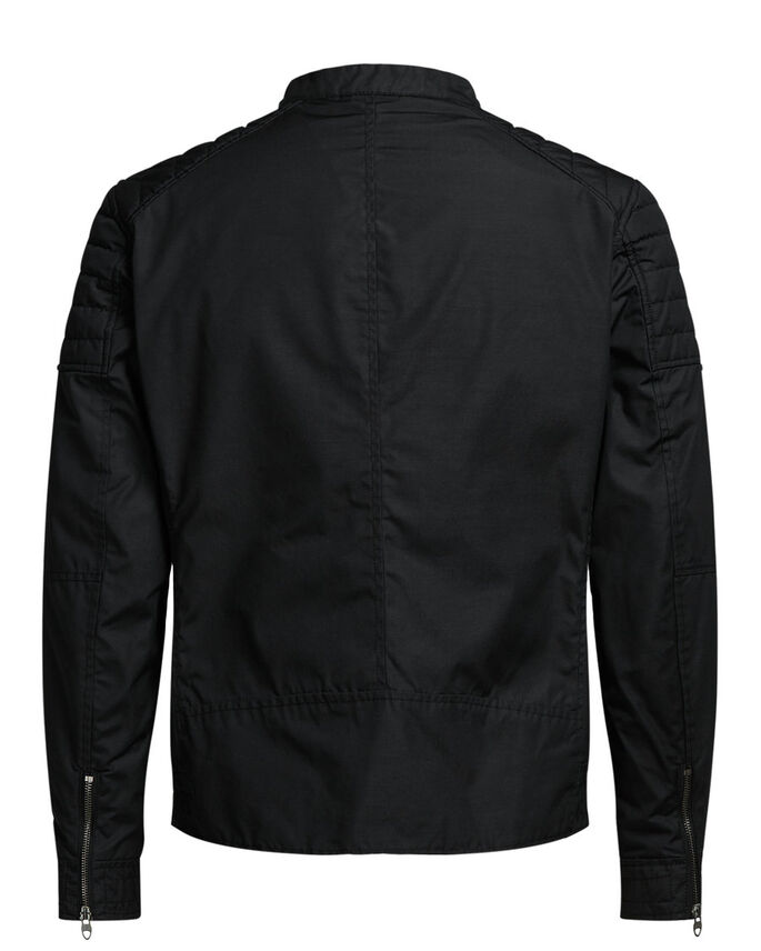 LIGHTWEIGHT WAXED JACKET, Caviar, large