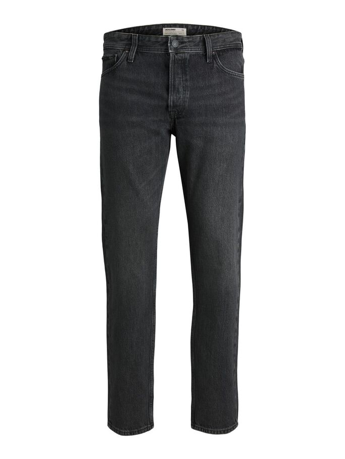 CHRIS ORIGINAL CJ 720 LOOSE FIT JEANS, Black Denim, large