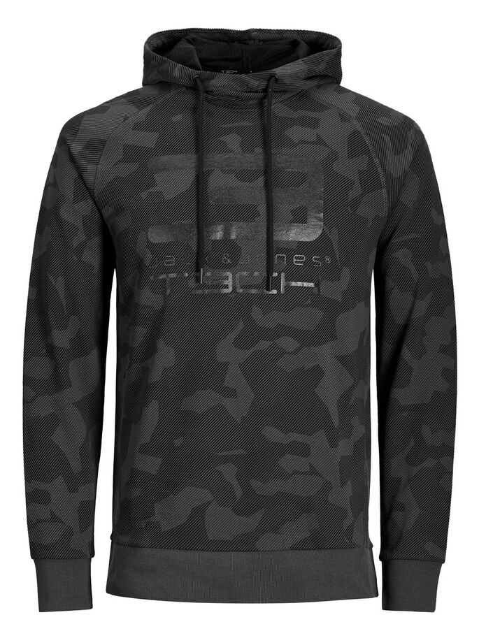 CAMOUFLAGE SWEAT-SHIRT, Asphalt, large