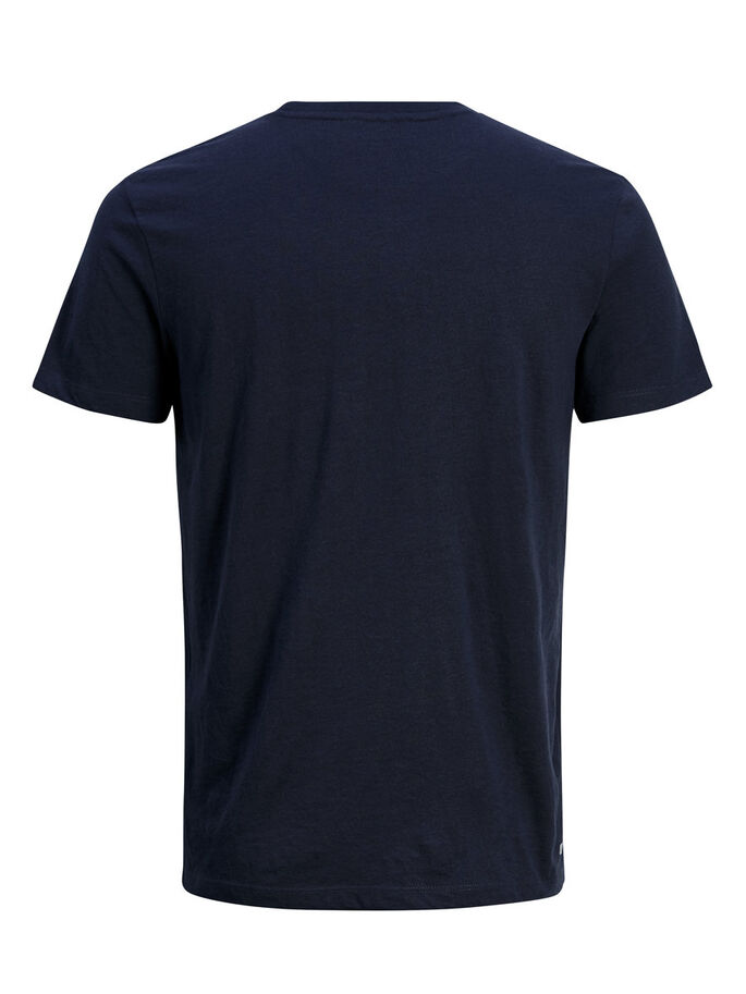 LÄSSIGES T-SHIRT, Navy Blazer, large