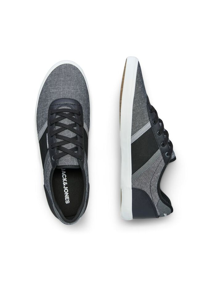 LEINEN SNEAKERS, Anthracite, large
